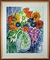 Vase 1; 40x50 cm