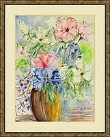 Vase 4; 30x40 cm
