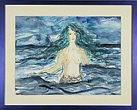 Meerjungfrau; 24x18 cm