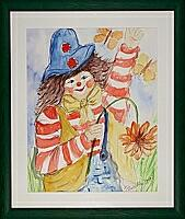 Clown_2; 50x60 cm