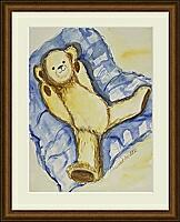 Teddy 2; 24x32 cm