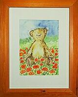 Teddy 4; 20x28 cm