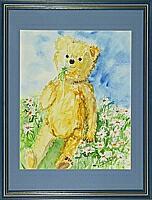 Teddy 5; 24x30 cm