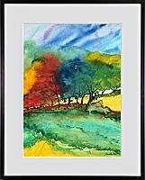 Farbenfluss; 30x40 cm