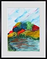 Farbenfluss_2; 30x40 cm