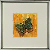 Schmetterling; 15x15 cm