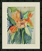 3 Tulpen ; 24x32 cm