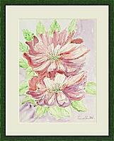 jap_Kirschblüten; 36x48 cm