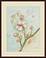 Kirschblüten; 30x40 cm
