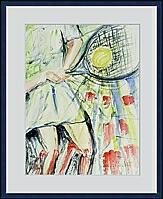 Tennis; 36x47 cm
