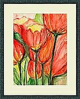 Tulpen; 40x30 cm