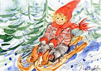 Weihnachtskarte 2004 4