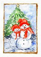 Weihnachtskarte 2004 7