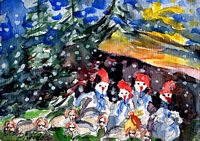 Weihnachtskarte 2004 8